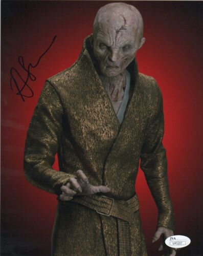 Andy Serkis Star Wars Autographed Signed 8x10 Photo JSA COA #S8