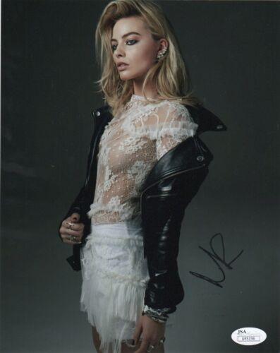 Margot Robbie Sexy Autographed Signed 8x10 Photo JSA COA #16