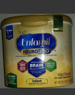 Enfamil NeuroPro Infant Formula Brain 6 Pack Non GMO Gluten Free JAN 21 20.7oz