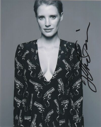 Jessica Chastain Sexy Autographed Signed 8x10 Photo COA #10