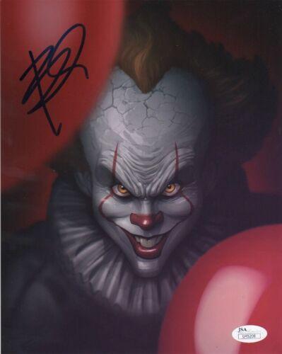 Bill Skarsgard IT Autographed Signed 8x10 Photo JSA COA #7