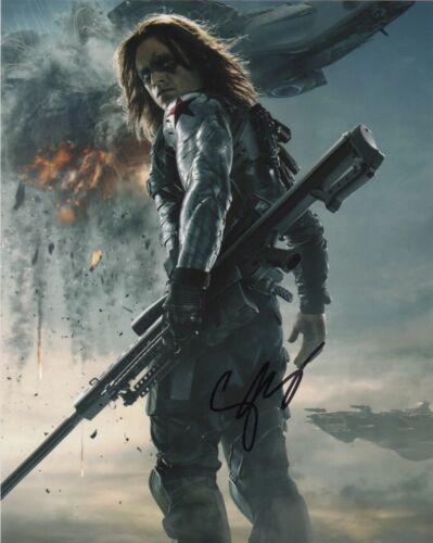 Sebastian Stan Captain America Autographed Signed 8x10 Photo COA #O5