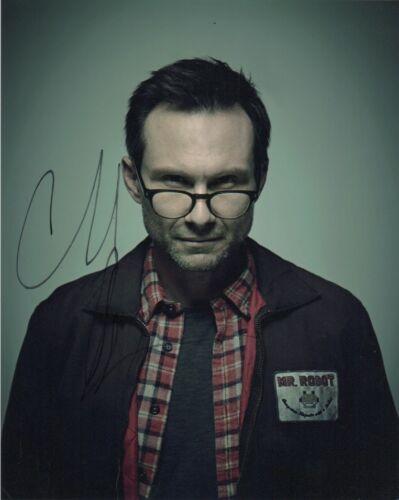 Christian Slater Mr Robot Autographed Signed 8x10 Photo COA #5