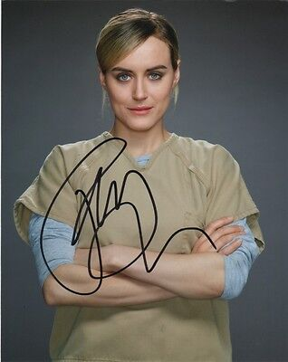 Taylor Schilling Orange Is The New Black Autographed Signed 8X10 Photo Coa  6