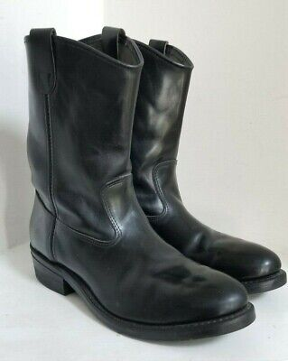 IRON AGE Steel Toe Safety Motorcycle Oil Slip Resistant Boots - MENS SIZE 12 D