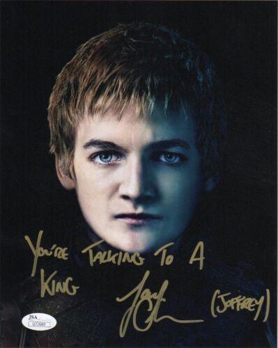Jack Gleeson Game of Thrones Autographed Signed 8x10 Photo JSA COA #3