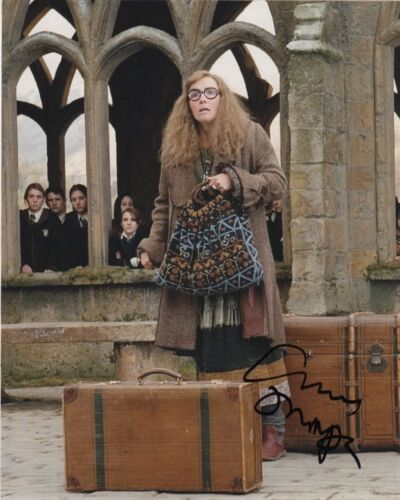 Emma Thompson Harry Potter Autographed Signed 8x10 Photo COA #8