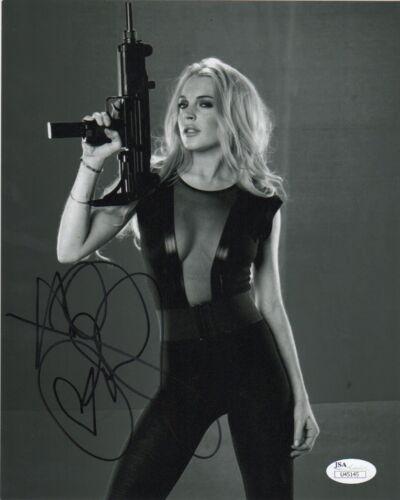 Lindsay Lohan Sin City Autographed Signed 8x10 Photo JSA COA #1
