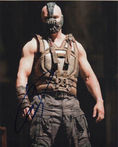 Tom Hardy The Dark Knight Autographed Signed 8x10 Photo COA #M4