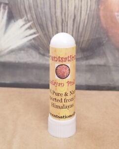 HIMALAYAN PINK SALT INHALER NASAL 100% PURE NATURAL ALLERGIES SINUS FLU *HEALING