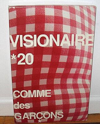 VISIONAIRE 20 COMME DES GARCONS Rei Kawakubo Designer Fashion Box Limited ED
