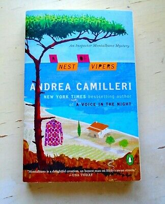 A Nest of Vipers by Andrea Camilleri  Pb. (An Inspector Montalbano Mystery)
