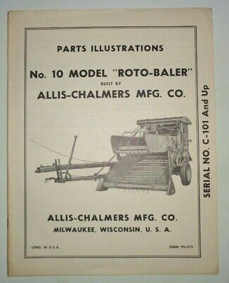 Allis Chalmers Baler | Owner's Guide to Business and