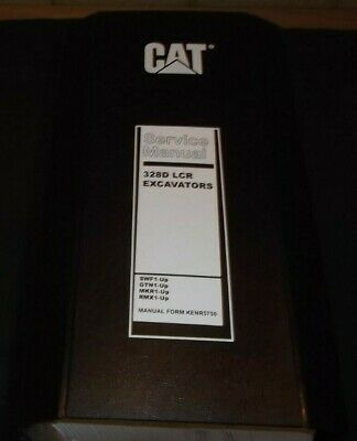 Cat Caterpillar 328d Lcr Excavator Service Shop Repair Book Manual Rmx Swf Mkr