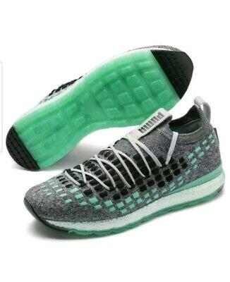 Puma Jamming Fusefit Evolution Sneakers Mens/Womens Grey/Black/Green Size9