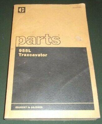 Cat Caterpillar 955l Traxcavator Track Loader Parts Manual Book Sn 85j6247-9509