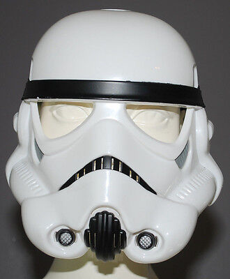 Star Wars Storm Trooper Fighter Halloween Mask Kids Adjustable Band Plastic Play