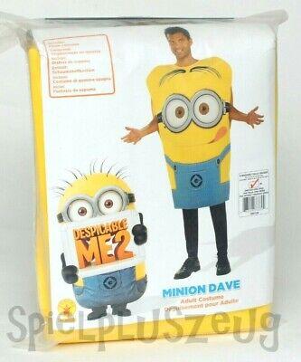 Minion Dave Minions Kostüm für Erwachsene Karneval Fasching Größe M - Neue Kostüm Für Erwachsene