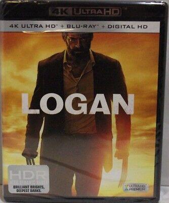 Logan   4K Ultra Hd  Blu Ray And Digital Hd   New
