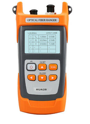 Mini 60km 1550nm Fiber Optic Otdr Optical Fiber Reflectometer With Vfl