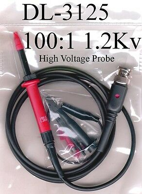 High Voltage Probe Kit Dl-3125 High Voltage Test Probe For Dc To 1200 Volts
