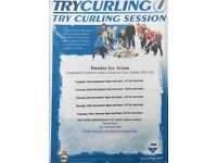 TRY CURLING AT DUNDEE ICE ARENA starts 13th September