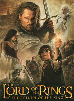 LORD OF THE RINGS THE RETURN OF THE KING UPDATE 72-CARD BASE SET TRADING CARDS