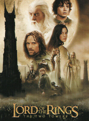 LORD OF THE RINGS THE TWO TOWERS UPDATE 72-CARD BASE SET TRADING CARDS