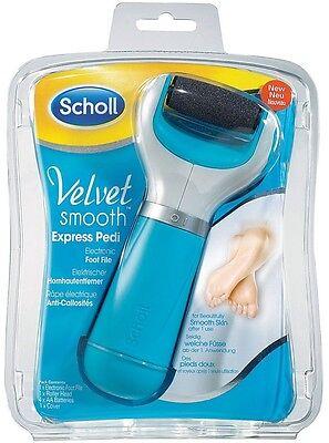 Scholl Velvet Smooth Express Pedi Electronic Foot File (Scholl Velvet Smooth Express Pedi Electronic Foot File)