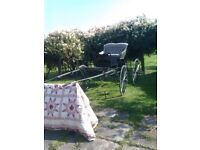 4 wheeled show cart with ash shaft .£2,500 ono please ring 01670818155 to arange to view