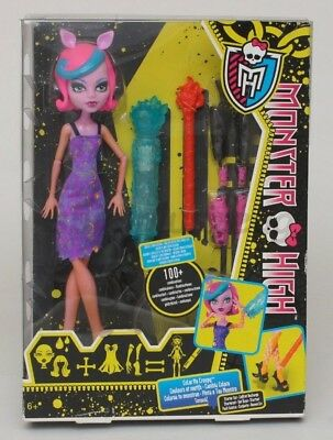 Monster High Puppe Werwolf Starterset Color Me Creepy NEU ()
