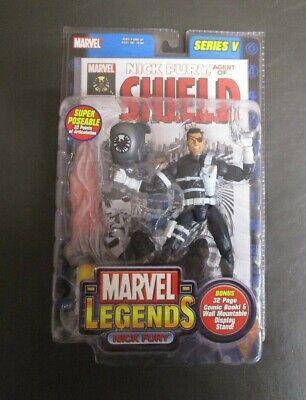 Nick Fury 2003 Series V 5 MARVEL LEGENDS Toy Biz MIB GV
