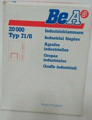Tackerklammern 21000 Stück BEA Heftklammern 380//8
