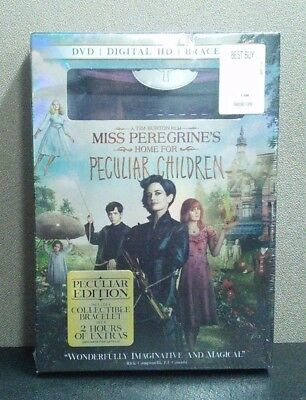 Miss Peregrine's Home for Peculiar Children (DVD) Best Buy Exclusive  BRAND (Best Comedies For Kids)