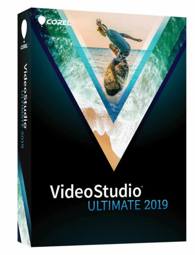 Corel VideoStudio Ultimate 2019 - New Retail Box