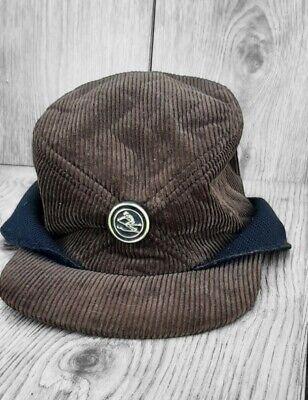 1950s Mens Hats | 50s Vintage Men's Hats Vintage 1950s United Hatters Cap & Millinery Workers Hat Corduroy Ski Sz 7 1/8 $15.00 AT vintagedancer.com