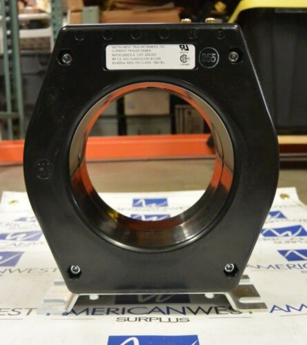 Instrument Transformers LLC 203-202 Ratio 2000:5 A Transformer