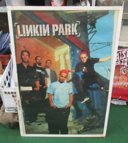 LINKIN PARK POSTER NEW EARLY 2000S RARE VINTAGE COLLECTIBLE OOP LIVE