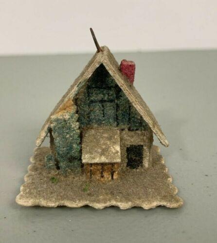 Vintage Putz Christmas Village House Ornament Made in Czechoslovakia