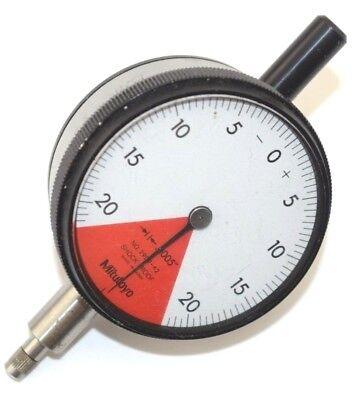Mitutoyo Dial Indicator Gauge - Model 2909-62 - .0005 - Shock Proof - Japan