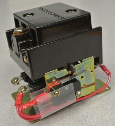 GOULD 2160-B311LA-22 CONTACTOR / 600VAC / 30A IND / 40A RES / 48VDC COIL / NEW