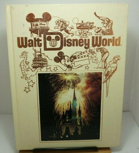Vintage Walt Disney World Souvenier Hardcover Book Epcot MGM Magic Kingdom