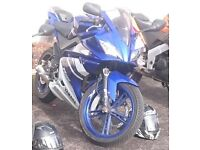 2010 YAMAHA YZF R 125 WITH 180CC MOLLOSI KIT rs cagiva cbr