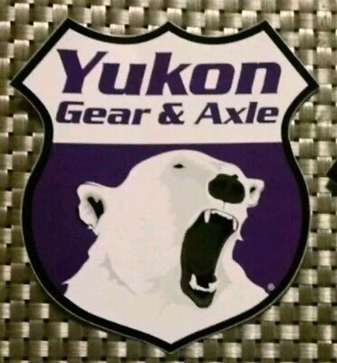 "YUKON GEAR AXLE OFF ROAD RACING STICKERS DECALS 4.5X5""FREE SHIPPING offroad utv"