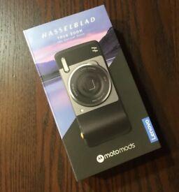 Hasselblad 10x zoom mod for Motorola Moto Z phones, New, Boxed, docs.