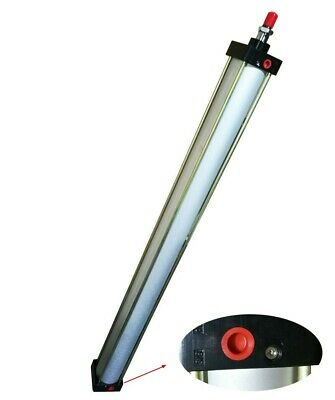 Pneumatic Standard Cylinder 1000mm Stroke 80mm Bore Double Acting Air Cylinder