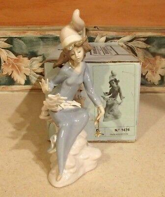 """Lladro #1476 """"Star Light, Star Bright"""" fairy with wand & stars - MIB,RV$410"""