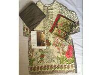 Pakistani Indian Asian stitched clothes suits various size