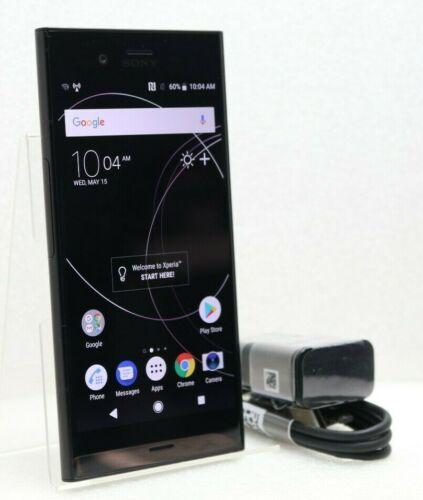 Sony XPERIA XZ1 4G LTE with 64GB Memory Cell Phone (Unlocked) Black G8342 BLACK