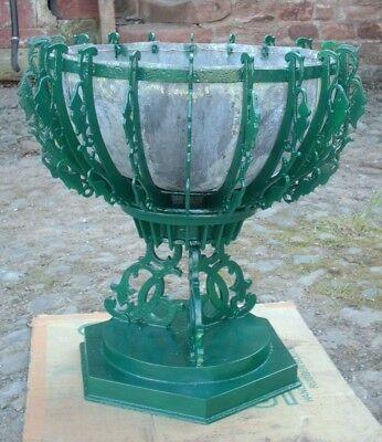 ANTIQUE VICTORIAN HUNT & PICKERING CAST IRON URN